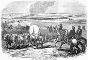 Westward Expansion, 1858 Print by Granger