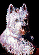 Abstract Realism Painting Posters - Westy Poster by Bob Coonts