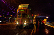 Tram Prints - Wet and Windy at Blackpool Print by Rob Hawkins