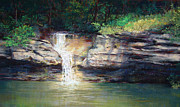 Judy Maurer - Wet Weather Waterfall