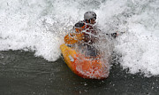 White Water Kayaking Posters - Wet Wet Wet Poster by Bob Christopher