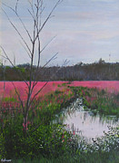 James Gallagher Prints - Wetlands I Print by James Gallagher