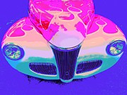Old Car Digital Art - Whaccccc by Chuck Re