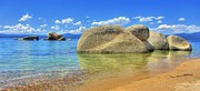 Nevada Prints - Whale Beach Lake Tahoe Print by Brad Scott