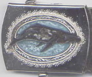 Belt Buckle Jewelry - Whale Buckle by John Maringola