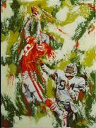 Gators  Paintings - What A Catch by Debbie Sampson