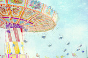 Carnivals Prints - What a Ride Print by Amy Tyler