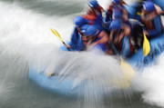 White Water Kayaking Posters - What a Rush Poster by Bob Christopher