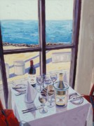 View Paintings - What a View by Christopher Mize