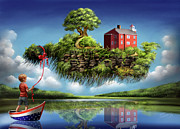 Scenic Digital Art - What a Wonderful World by Susi Galloway