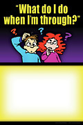 Integration Posters - What Do I Do When Im Through Poster by Shevon Johnson