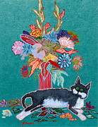 Cats - What Flowers by Adele Bower