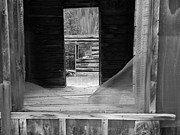 Cabin Window Photos - What Has Been by Jessica Duede