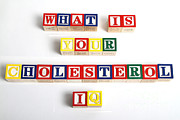 What Is Your Cholesterol Iq Print by Photo Researchers