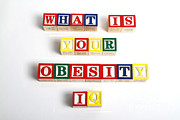 What Is Your Obesity Iq Print by Photo Researchers
