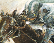 Racehorse Paintings - What It Takes to win by Francine Stuart