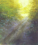 Pathway Paintings - What Lies Ahead by Delores Herringshaw