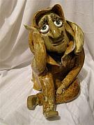 Handmade Ceramics - What The Hell by Sandi Floyd