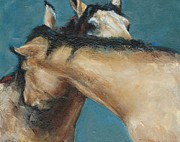 Wild Horses Prints - What We Can All Use A Little Of  Print by Frances Marino