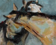 Equine Framed Prints - What We Could All Use a Little Of Framed Print by Frances Marino