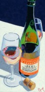 Oil Wine Paintings - What We Do by Christopher Mize