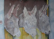 Donkey Originals - Whats Going On Out Ere Then by Linda Franklin