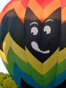 Hot Air Balloons Art - Whats That Over There by Mark Dodd