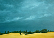 Wheatfields Originals - Wheatfields and Weather by Michael McNaughton