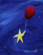 Shooting Star Prints - Wheeeee Print by Kerri Ertman