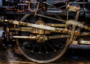 Crankshaft Prints - Wheel Print by Gert Lavsen