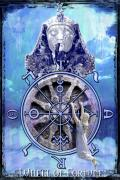 Divine Feminine Prints - Wheel of Fortune Print by Tammy Wetzel