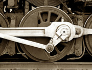 Train Car Photos - Wheel Power by Olivier Le Queinec