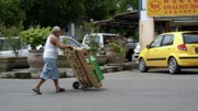 Small Towns Originals - Wheelbarrow by Ali Mohamad