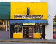 University Of California Metal Prints - Whelans Smoke Shop On Bancroft Way In Berkeley California  . 7D10168 Metal Print by Wingsdomain Art and Photography