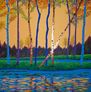 Autumn Landscape Originals - When Autumn Leaves by Randall Weidner