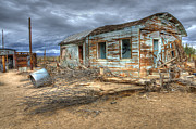 Rural Living Metal Prints - When Dreams End Metal Print by Bob Christopher