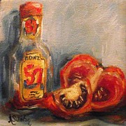 Ketchup Paintings - When I Grow Up by Angela Sullivan