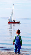 Ambition Prints - When I grow up I want to be a sailor Print by Fir Mamat