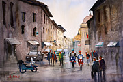 Rome Cityscape Paintings - When In Rome... by Ryan Radke