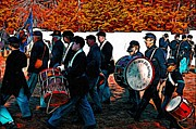 Band Digital Art - When Johnny Comes Marching Home by Bill Cannon