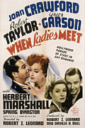 Postv Photos - When Ladies Meet, Robert Taylor, Joan by Everett