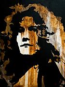 Robert Plant Paintings - When movin through Kashmir  by Brad Jensen
