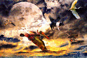 Dreams Digital Art - When Pigs Fly 2 by Wingsdomain Art and Photography