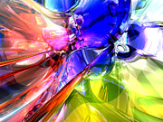 Gay Digital Art - When Rainbows Collide by Alexander Butler