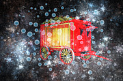 Bubbles Prints - When the Circus Comes to Town Print by Carol and Mike Werner