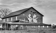 Fauquier County Virginia Photos - When the Farmers Away BW by JC Findley
