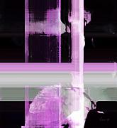 When The Light Goes Purple  Print by Fania Simon