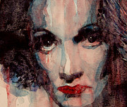 Celebrities Paintings - Where Do You Go My Lovely by Paul Lovering