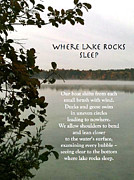Cristina Norcross - Where Lake Rocks Sleep