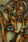 Mood Art Paintings - Where by Michael Lang